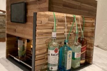 Automat do napojów DIY – dozuje miętę, cukier i limonkę