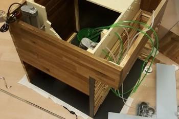 Zdjęcie z budowy automatu