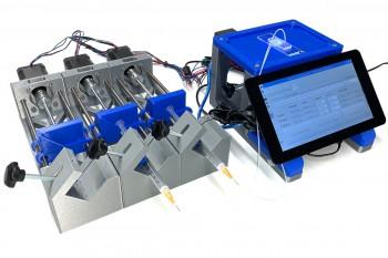 Pompa strzykawkowa DIY z Arduino i Raspberry Pi