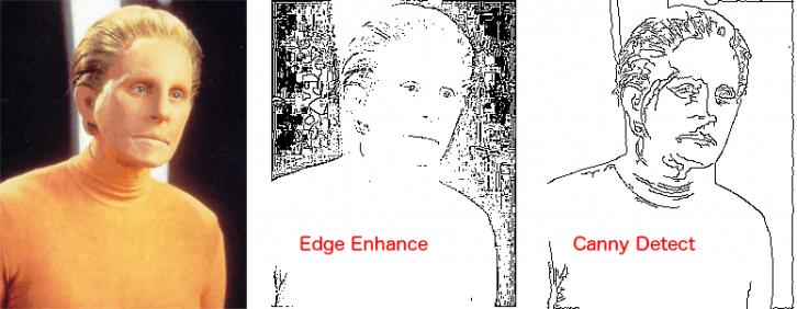 Kolejne etapy przetwarzania przykładowego zdjęcia