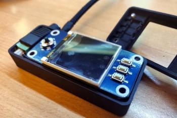 Sterownik z Raspberry Pi Zero i wyświetlaczem