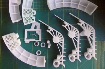 Elementy mechaniczne wykonane na drukarce 3D