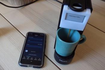 Ekspres do kawy z ESP32, w którym zapłacisz kryptowalutą