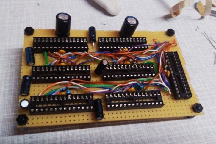 Płyta główna zespołu układów generujących sygnał PWM