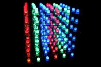 Niesamowita kostka LED RGB sterowana przez Bluetooth