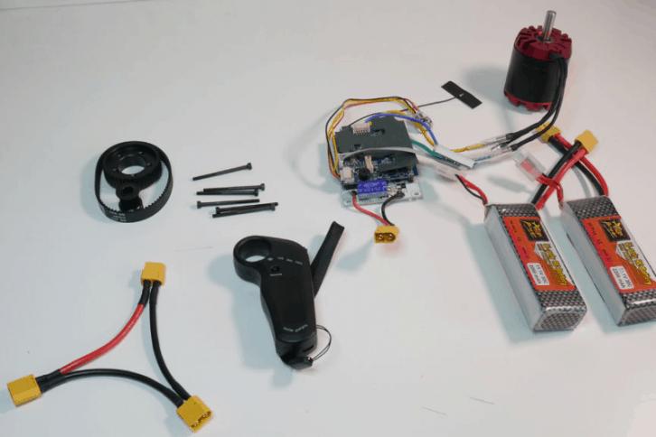 Elektronika użyta w projekcie