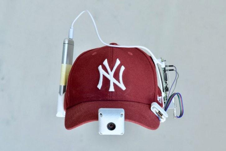 Gotowy projekt czapki z wideorejestratorem