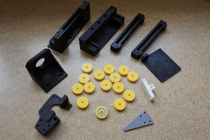 Elementy giętarki wydrukowane w 3D
