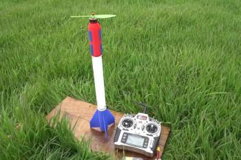 Rakieta elektryczna DIY zasilana superkondensatorami