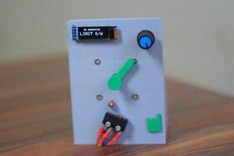 Tester DIY sprawdzi wytrzymałość przełączników krańcowych