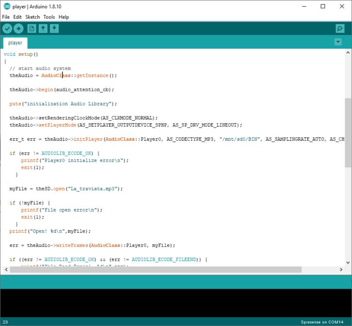 Arduino IDE i dostarczone przykłady pozwolą na zbudowanie odtwarzacza MP3