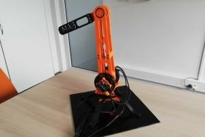 Torquemani - manipulator z silników BLDC
