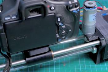 Slider DIY, który potrafi płynnie śledzić wybrany obiekt