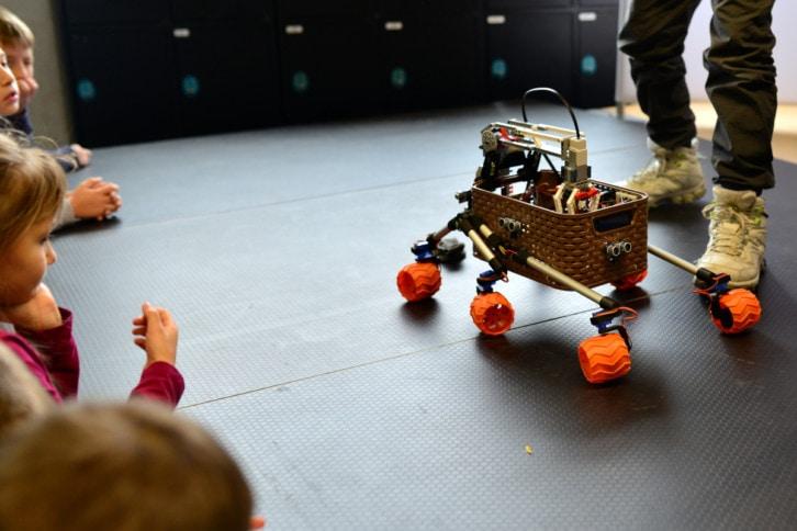 Jeden z robotów kategorii Freestyle