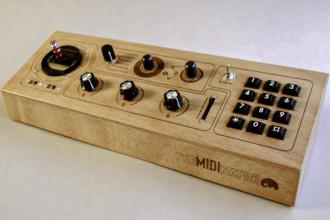 Estetyczny kontroler MIDI zbudowany na Arduino Mega