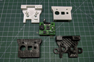 Uniwersalny czujnik filamentu DIY do drukarek 3D