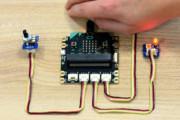 Kurs micro:bit – #3 – czujniki światła i obrotu w praktyce
