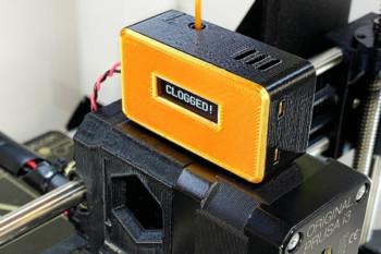 Czujnik DIY, który wykryje zapchanie dyszy drukarki 3D