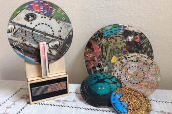 Odtwarzacz drewnianych płyt CD na bazie Arduino