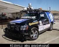 Zdjęcie przykładowego samochodu przygotowanego do zawodów DARPA Grand Challenge