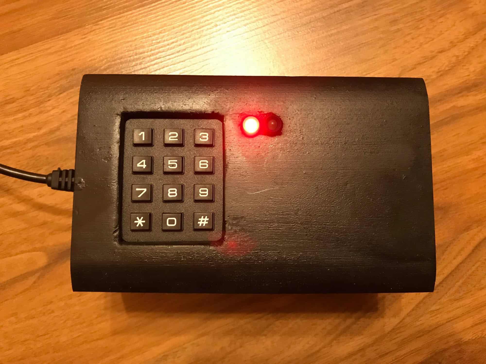 SafeBox, czyli sejf z ATmega328P