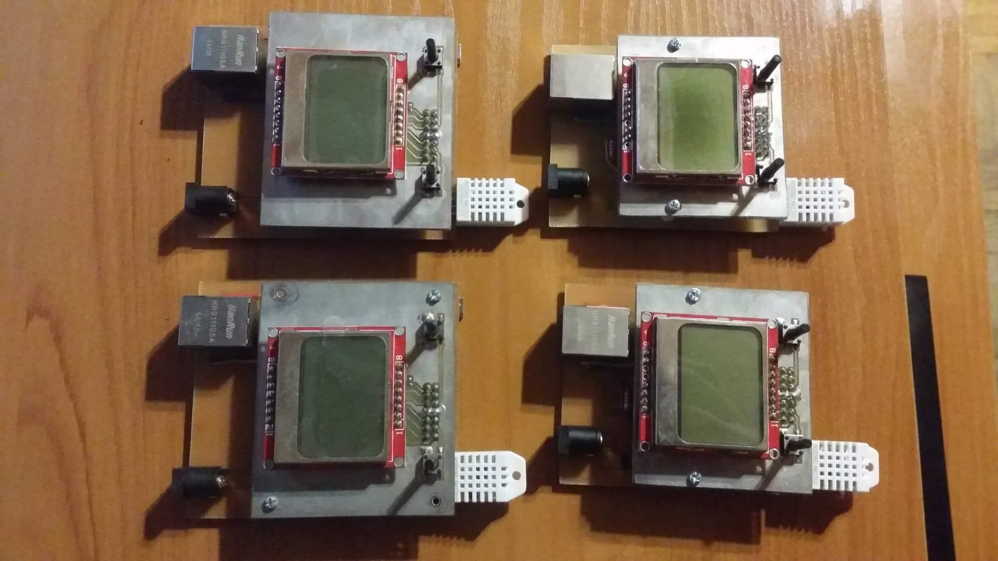 Sieciowy termohigrometr
