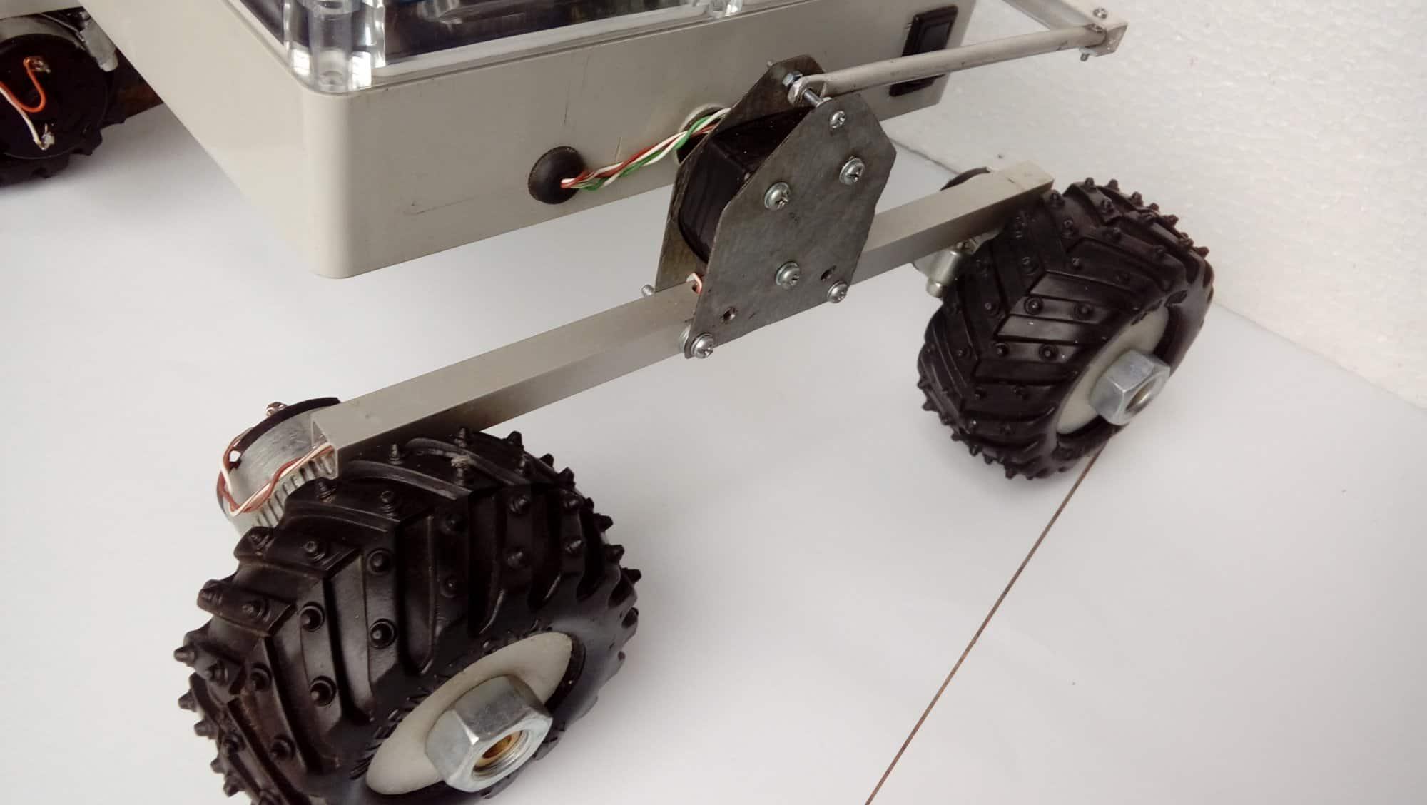 Pojazd inspekcyjny z kamerą