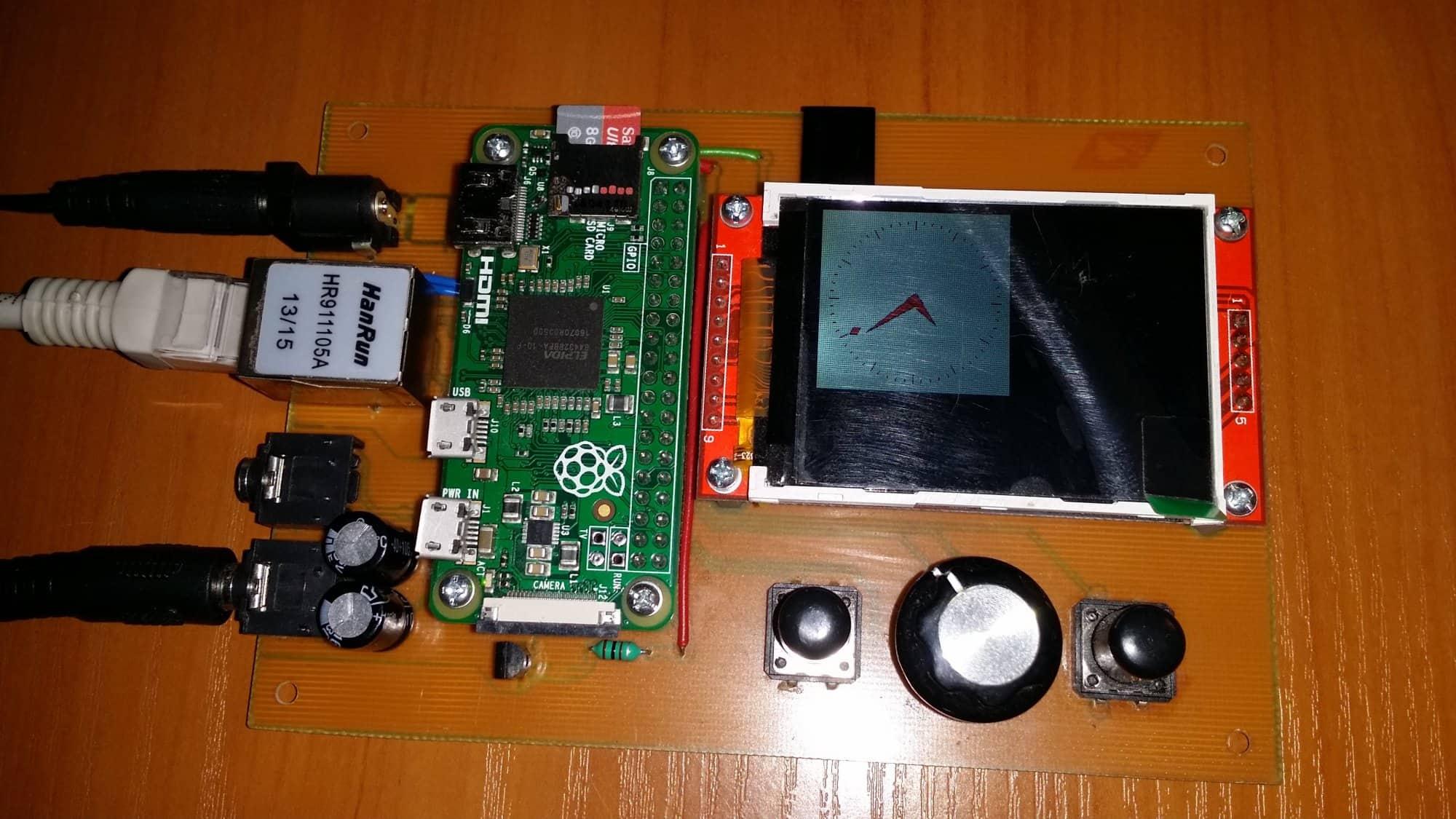 eMPeDocles - radio internetowe/odtwarzacz audio na Raspberry Pi Zero