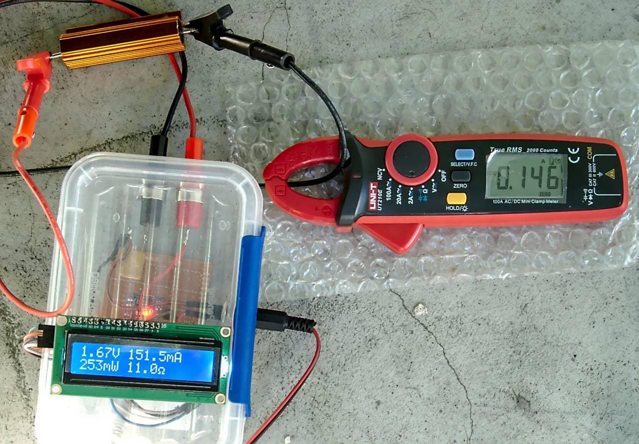 Multimetr DC oparty na Arduino z logowaniem danych na komputerze poprzez Bluetooth