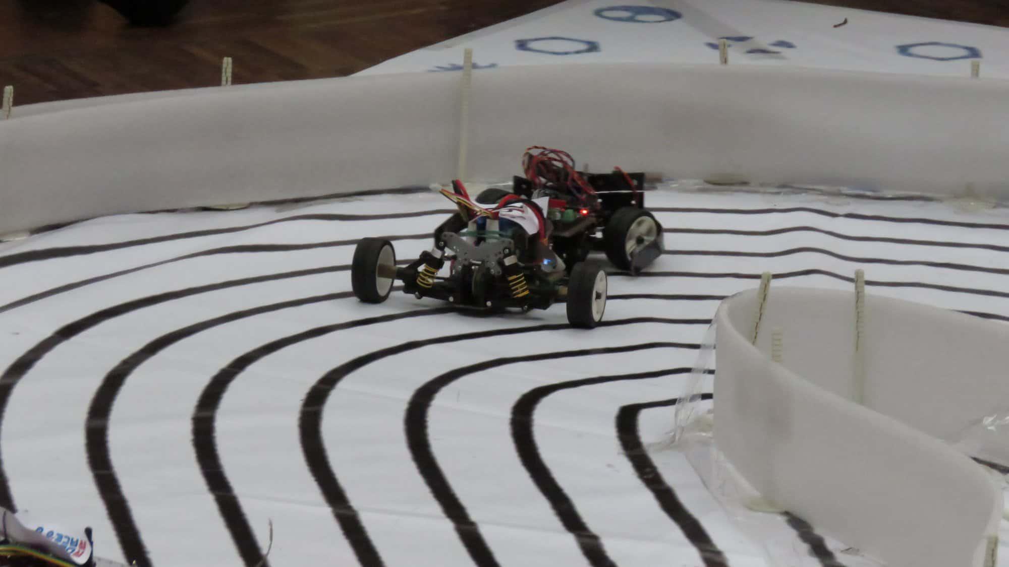 Wyścigówka Robo Race