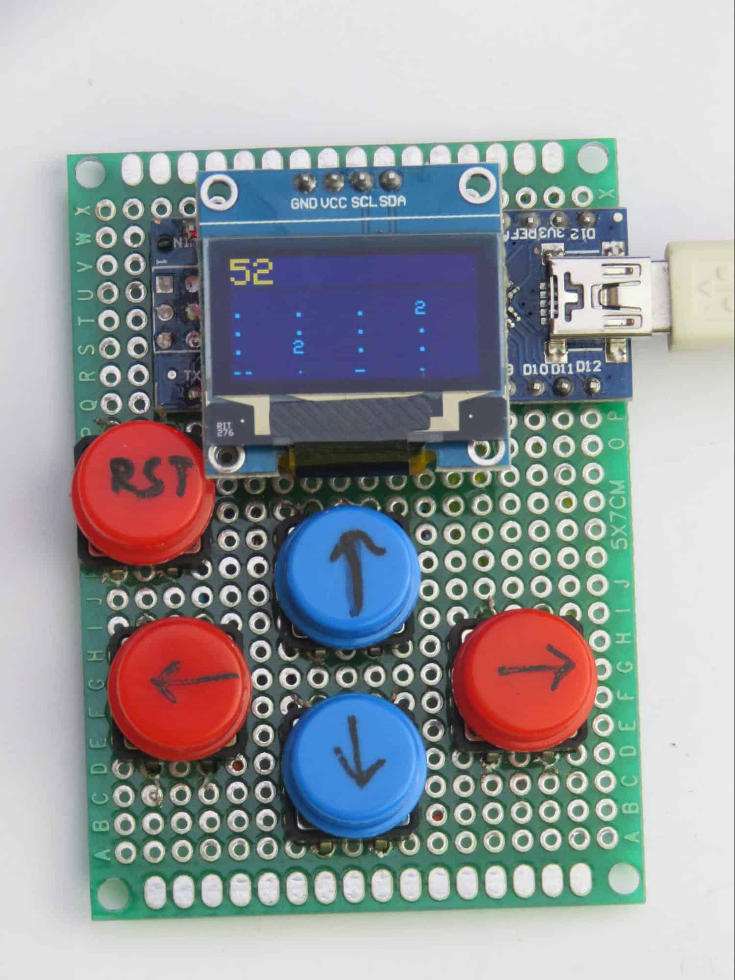 Gra 2048 na Arduino