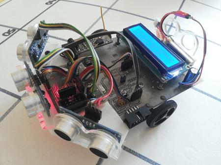 Robot mobilny [fuzzy logic]