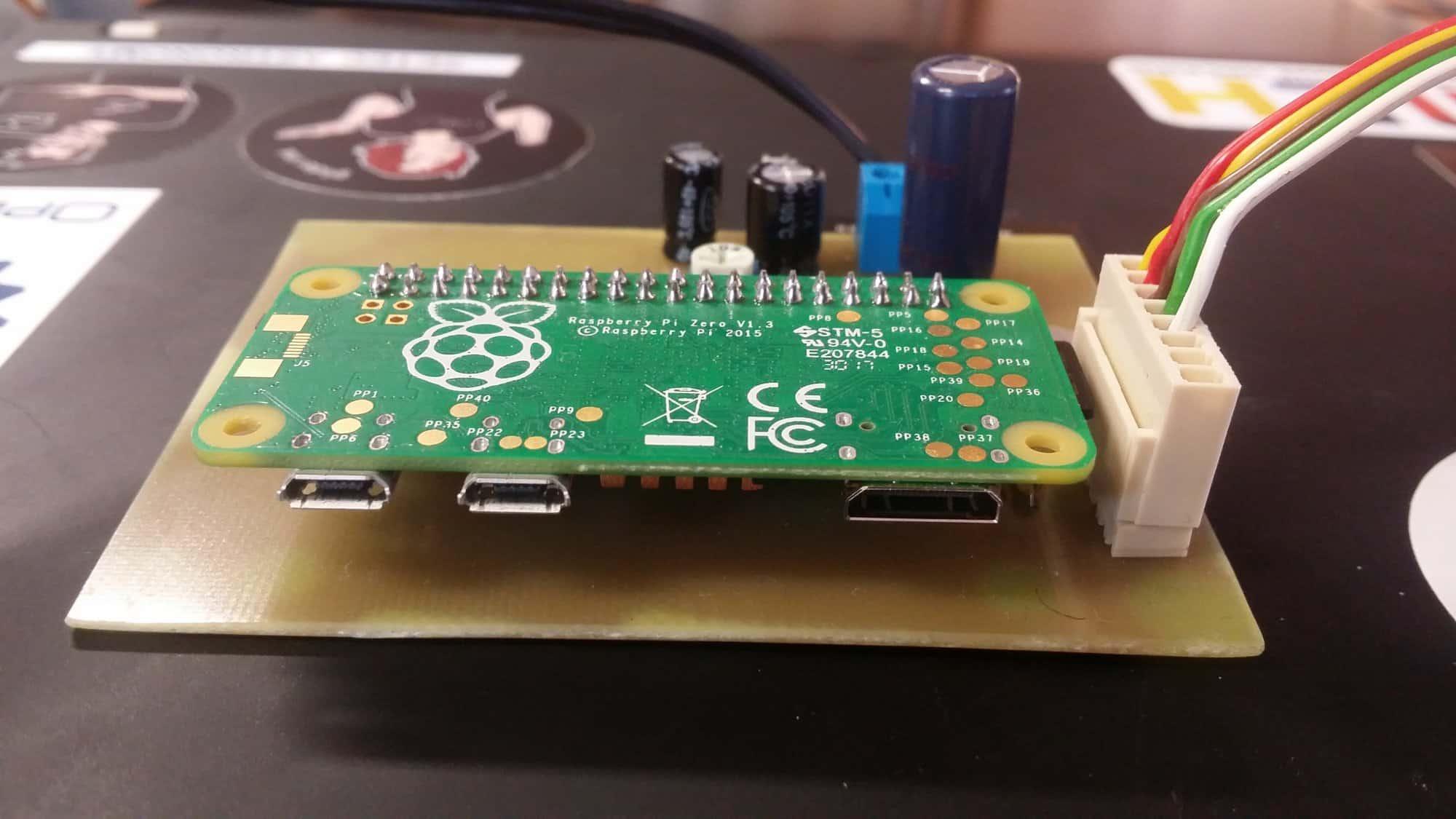 Moduł z wyjściem audio do Raspberry Pi Zero