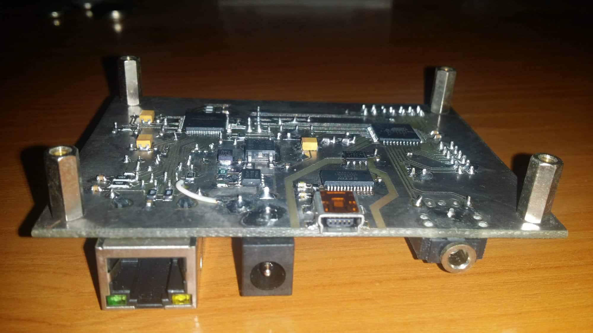 Moduł uruchomieniowy z Atmega644PA i W5100