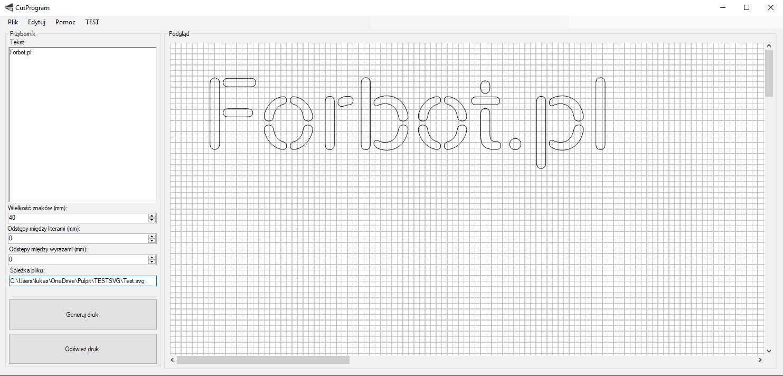 CUTWare - mój prosty program do generowania plików do druku