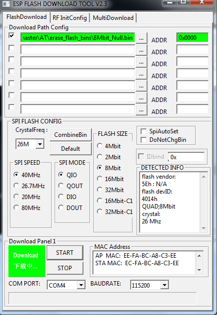 ESP8266 - 01s  - Arduino, ESP - FORBOT