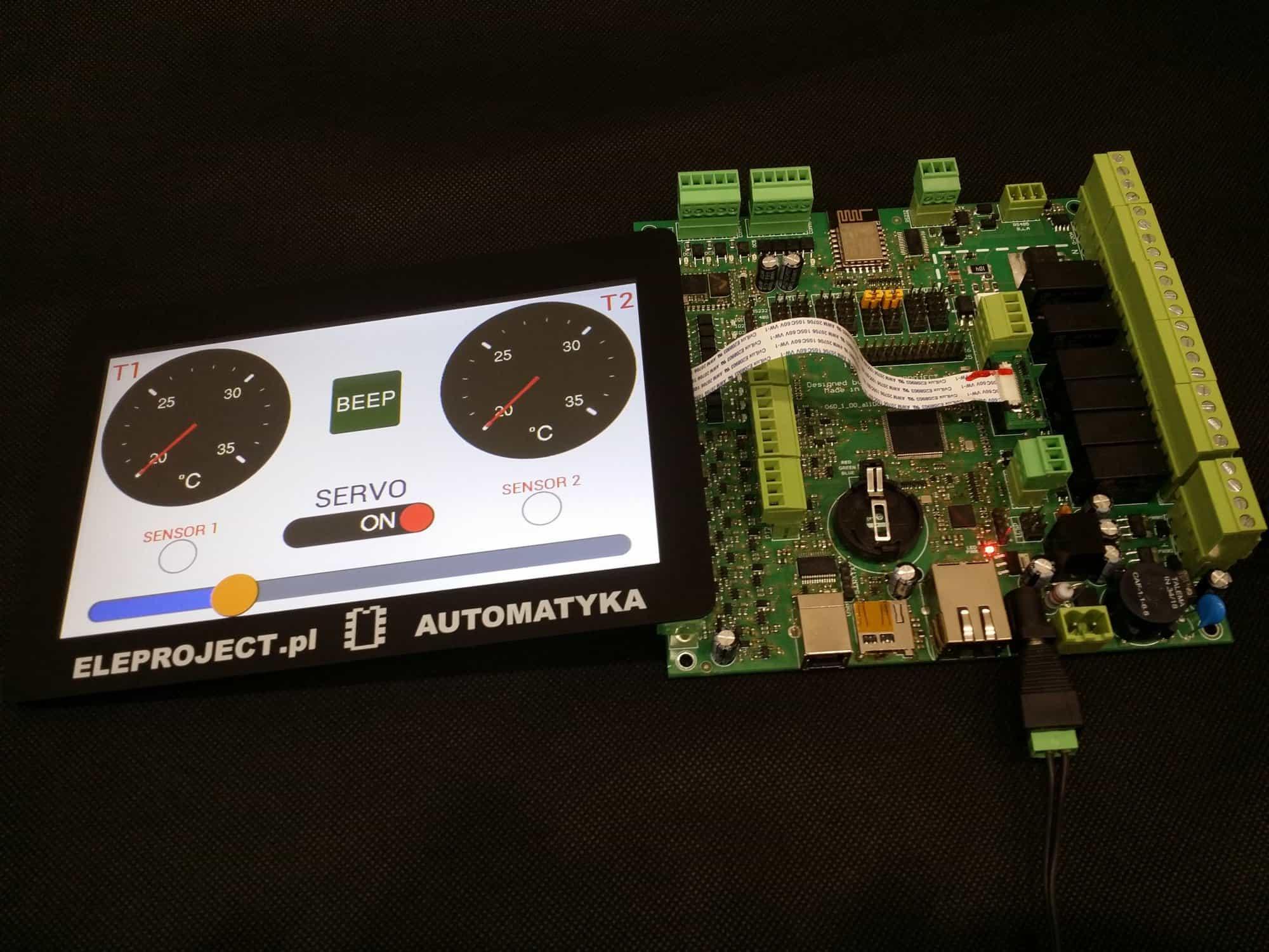 Uniwersalny moduł sterowania zgodny z Adruino Mega2560. Także programowalny w C z AtmelStudio.