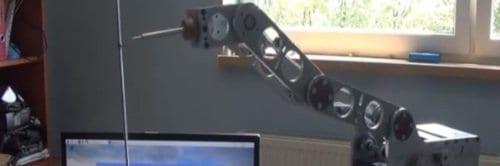 Manipulator z aluminium