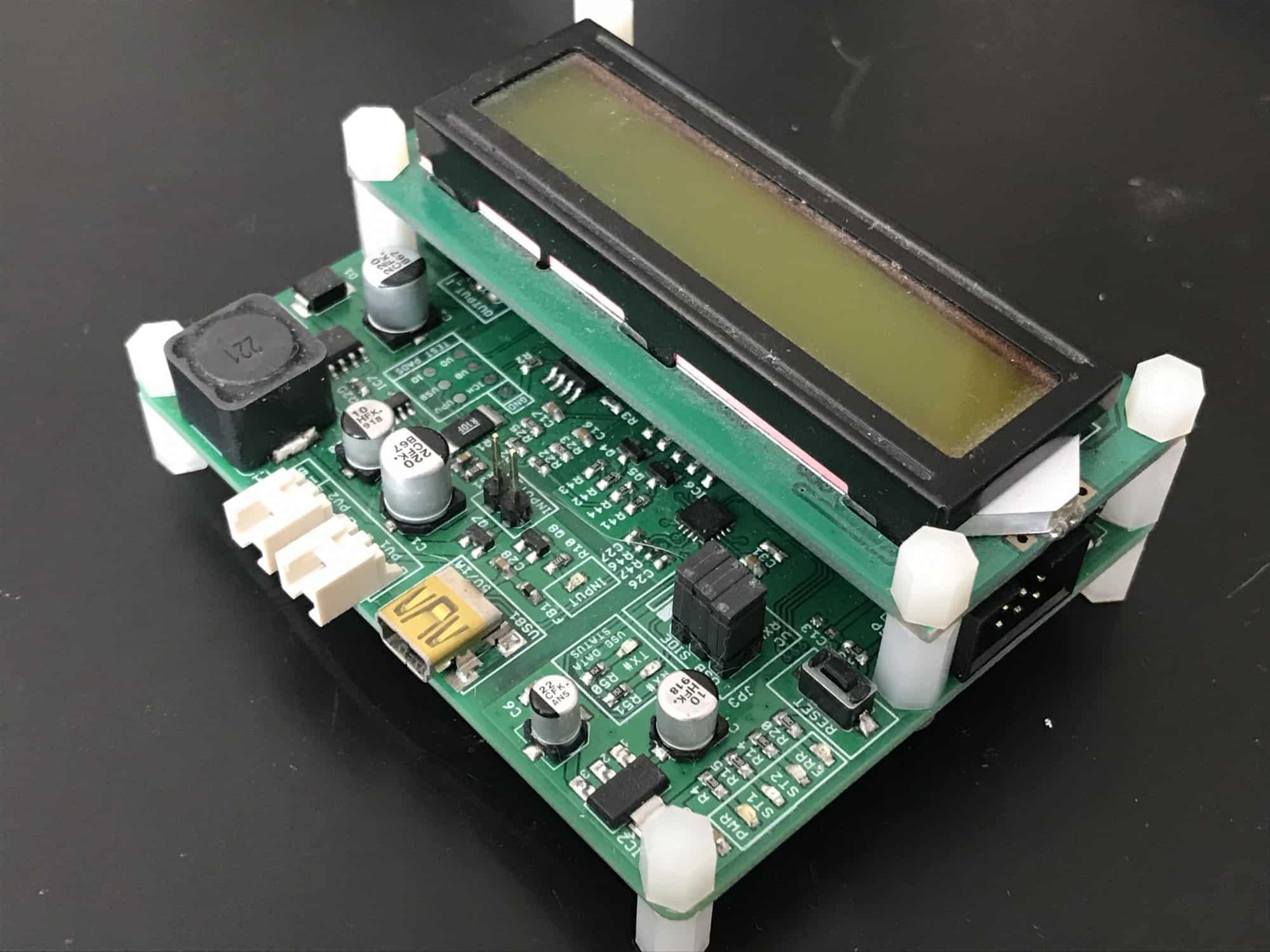 Ładowarka do akumulatorów litowo-polimerowych DIY [ATmega32]