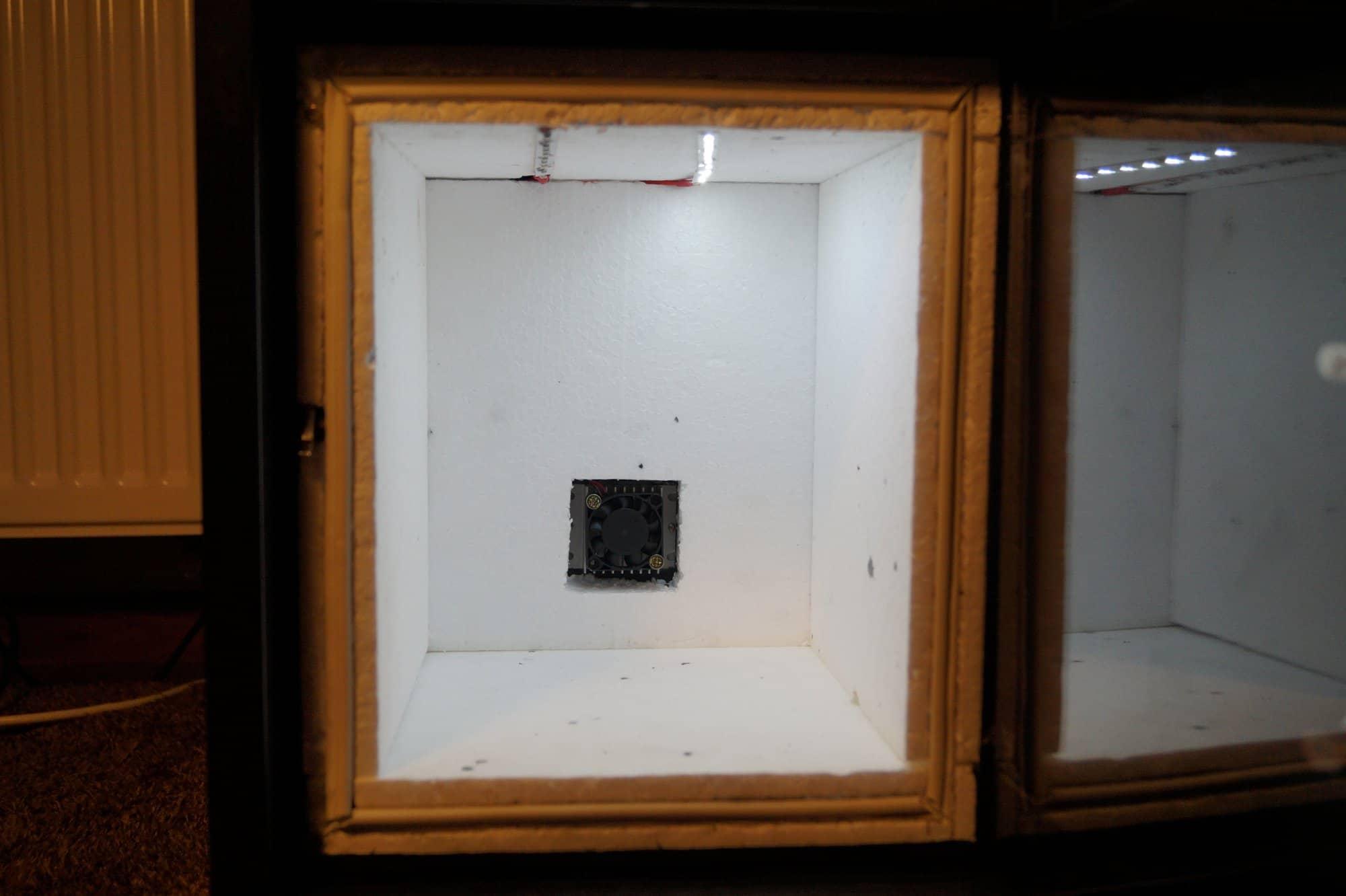 Minilodówka DIY na 12V (ogniwo Peltiera)