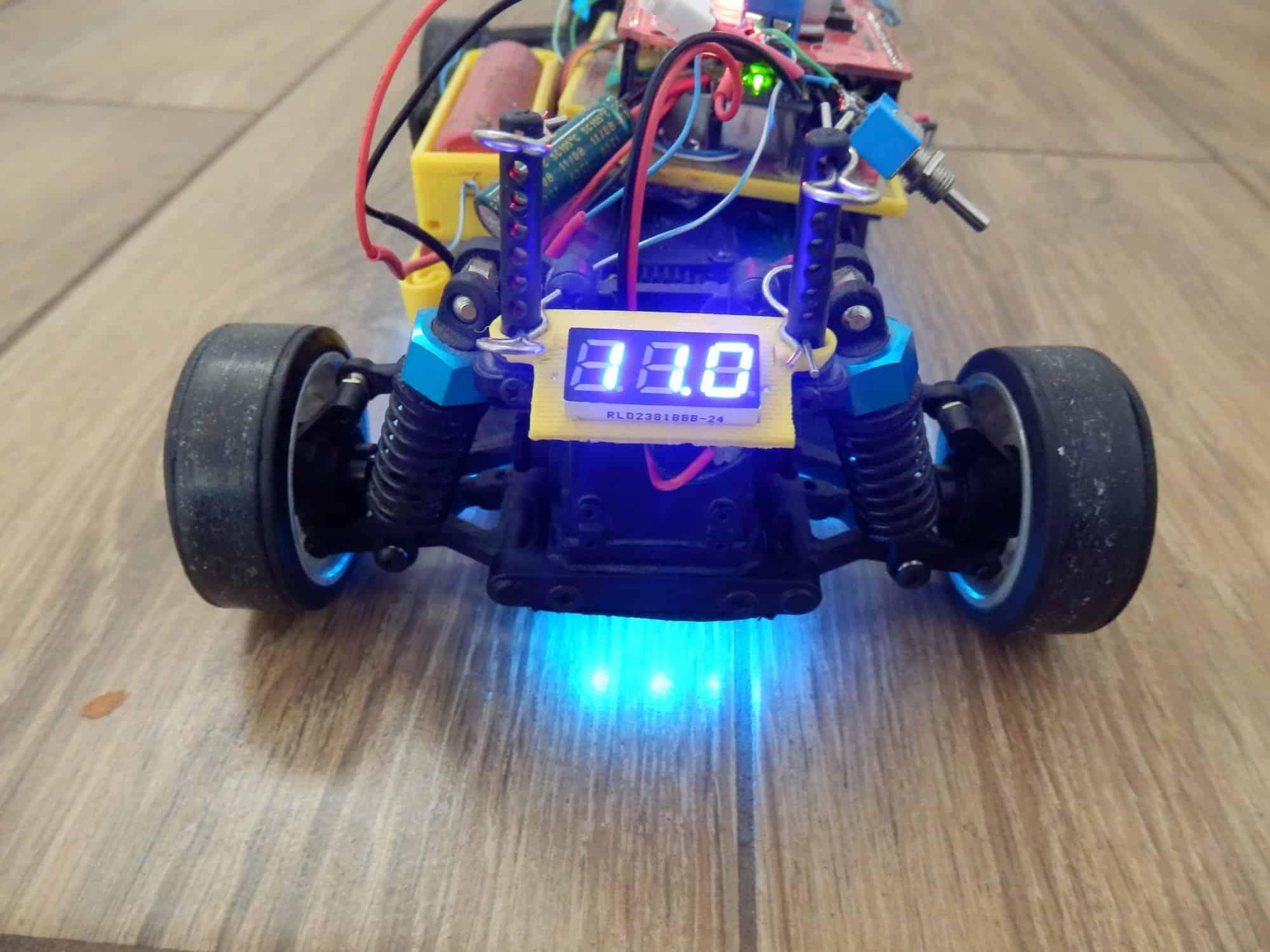 Proto - szybki robot freestyle