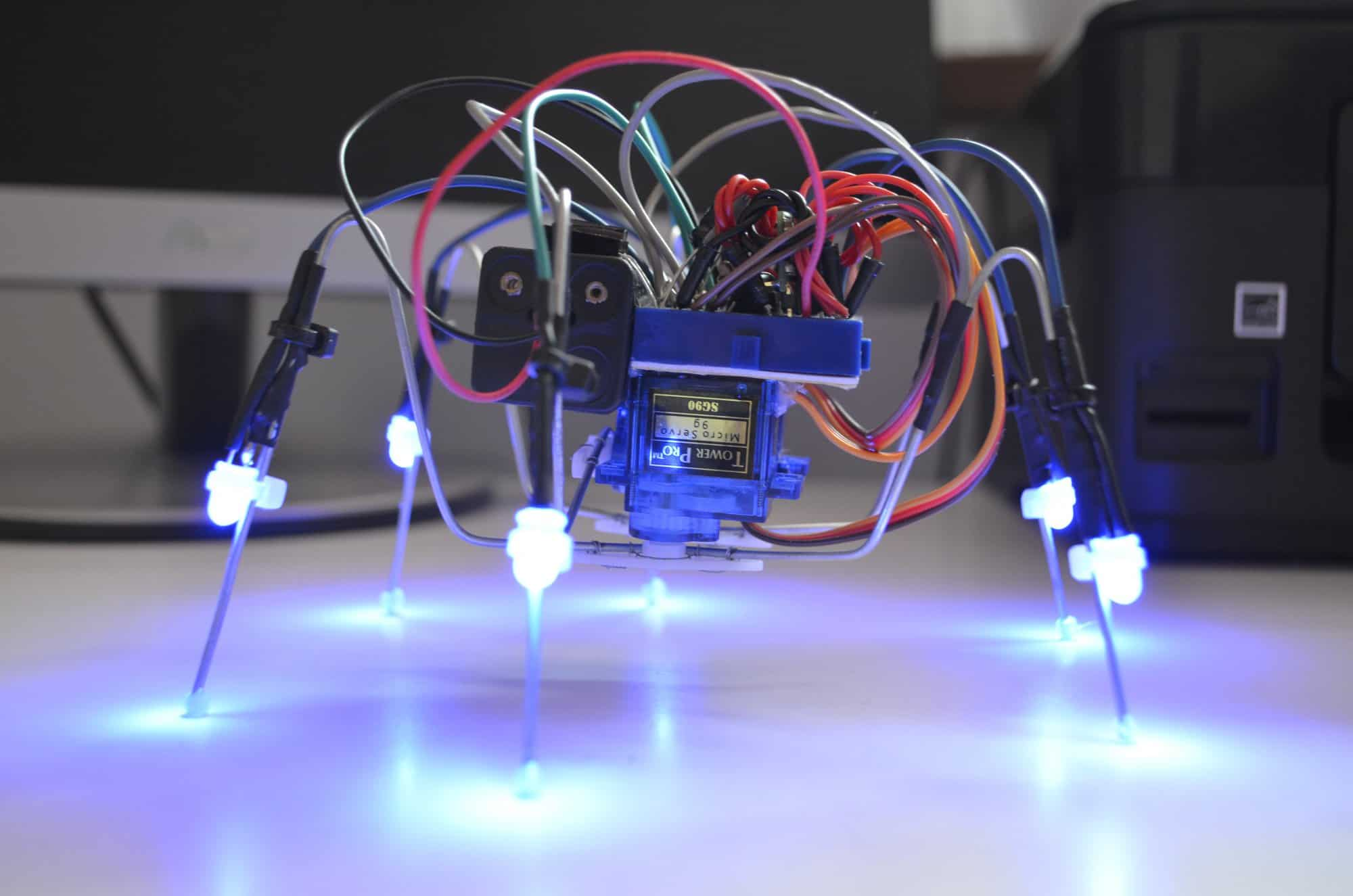 IR Mini Hexapod