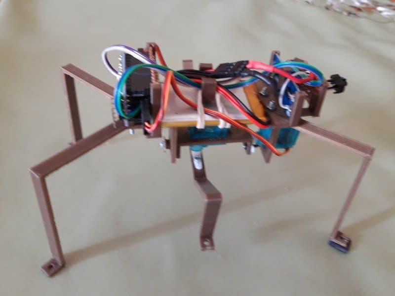 Pseudopod - czyli dwuserwowiec który udaje, że chodzi