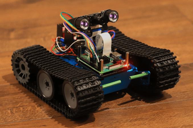Robot gąsienicowy PENETRATOR