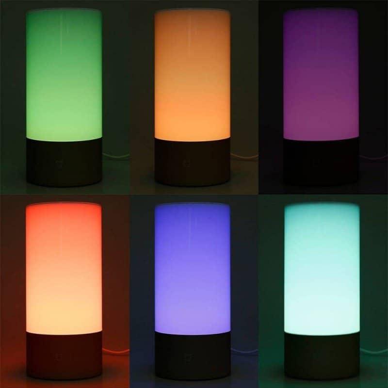 Lampka nocna RGB WiFi w stylu Xiaomi - WS2812B + ESP8266 ESP-01S + słoik