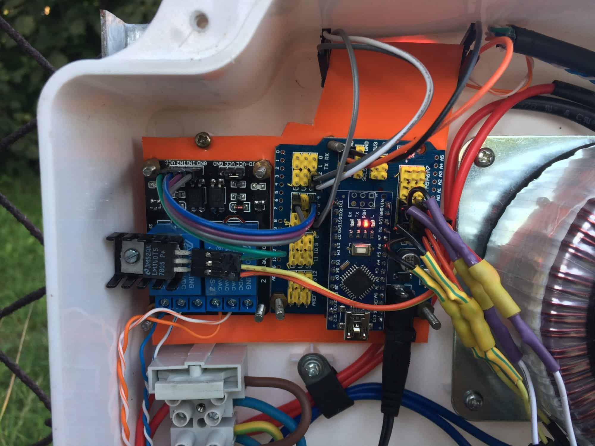 Zdalny moduł z RS485/web do Sterownika Bramy HB5