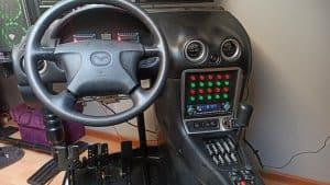 Stanowisko do gier samochodowych na bazie arduino.