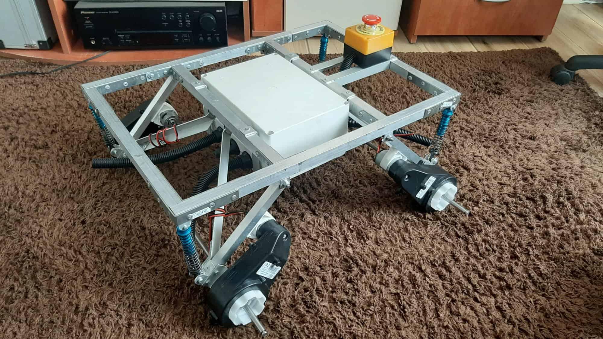 Robot terenowy - inżynierka