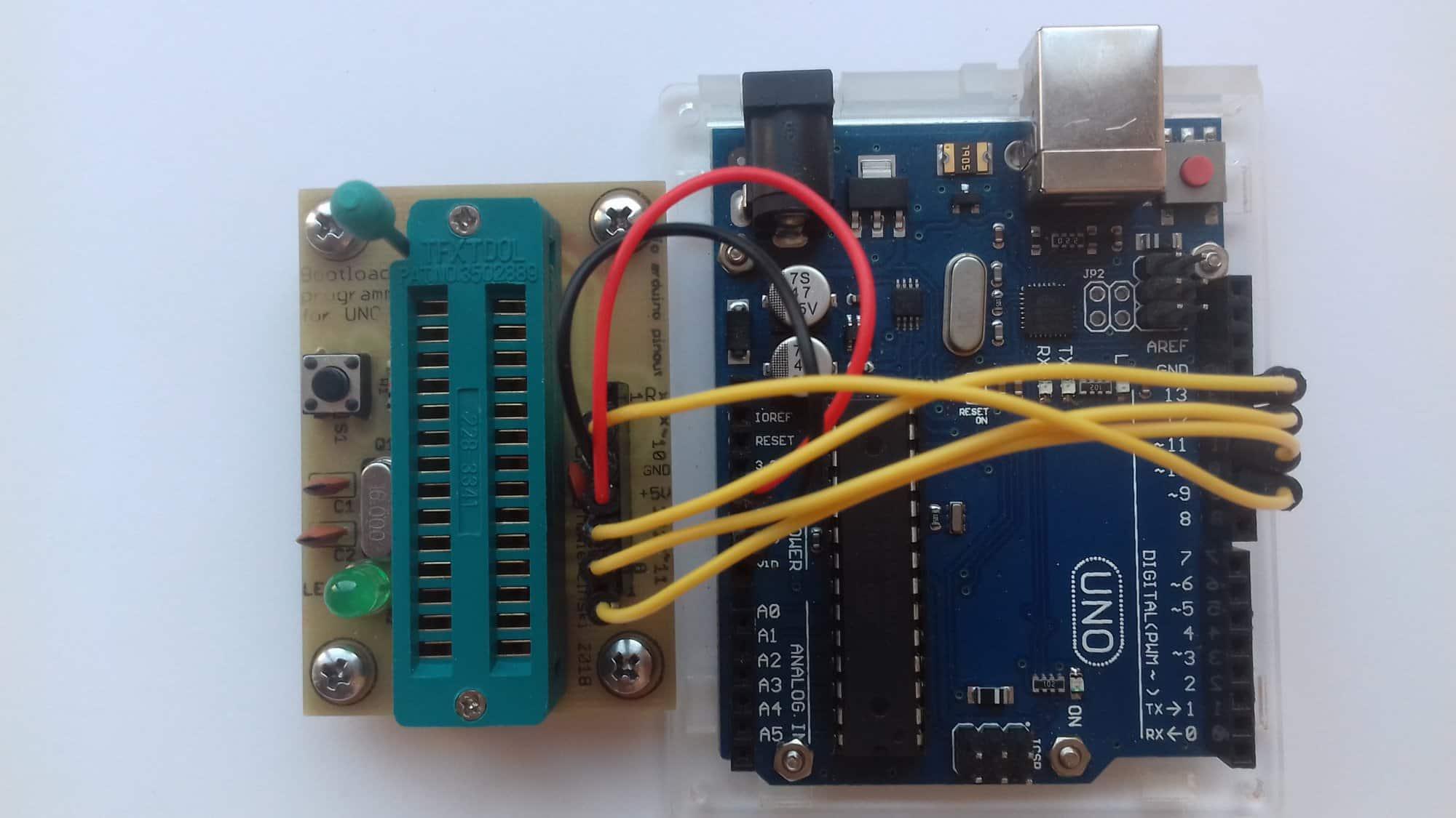 Bootloader programmer for UNO R3 - rev.2