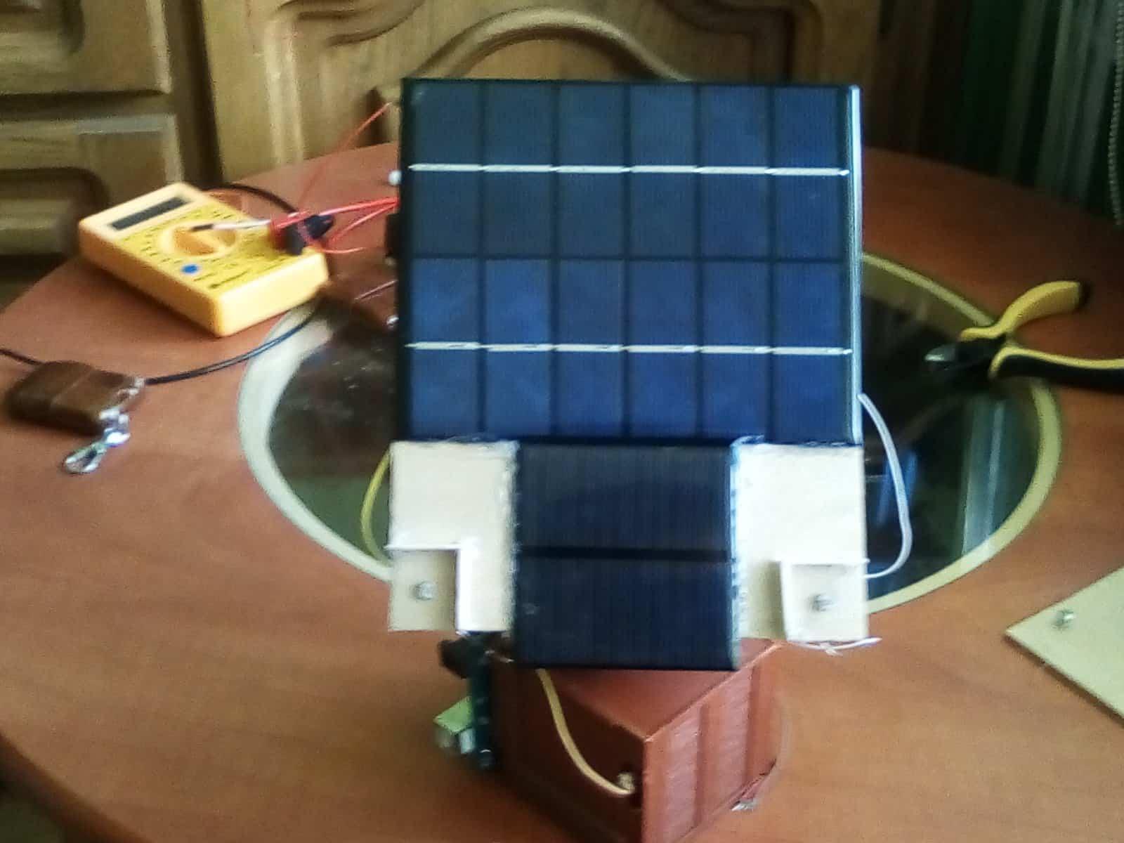 Mały solar tracker w wersji DIY